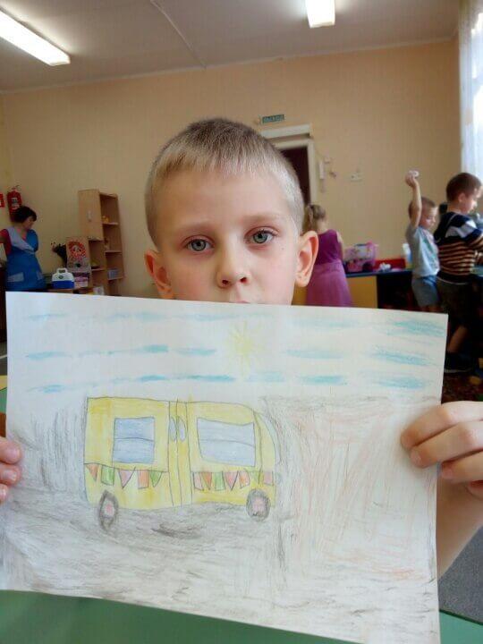 Пассажирский автобус 5