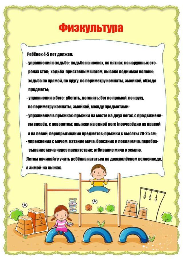 Что должен знать ребенок 3-4 лет 6